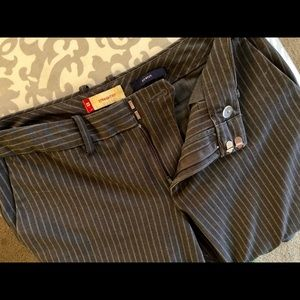 Straight Fit Pinstripe Trouser from Gap